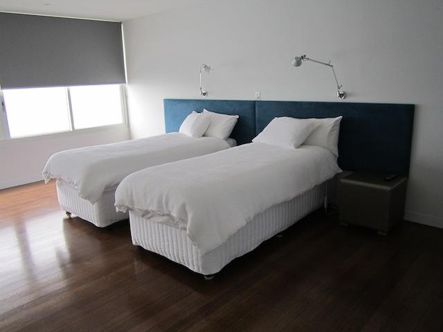 Twin bedrooms