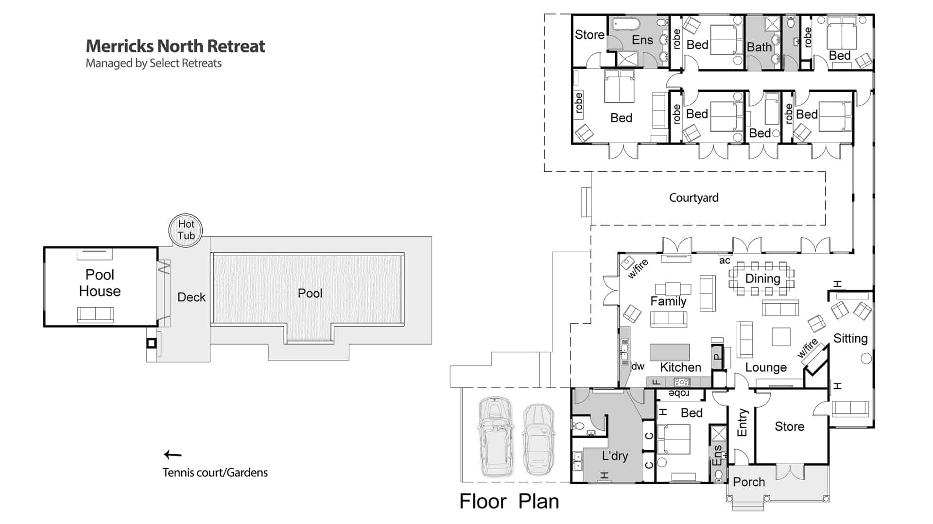 Merricks North Retreat Floor Plan